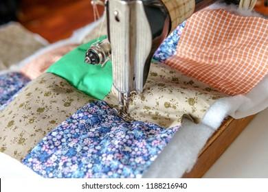 Patchwork quilt process
