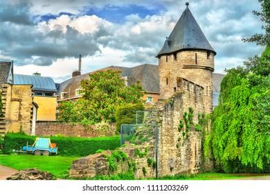 Pater Vincktoren, a medieval tower in Maastricht - Limburg, the Netherlands