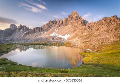 Paterno mountain, Dolomites, Trentino Alto Adige, Italy