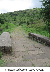 The path to the Ellora Caves