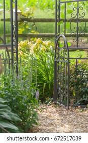 Path to garden gate