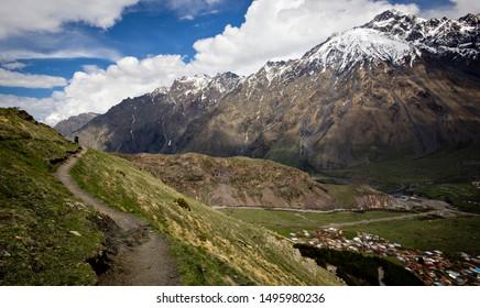 A path in Georgia mountains