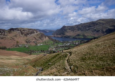 path from Glenridding, Ullswater Lake, Lake District National Park, Cumbria, England