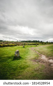 path in the Moor memorial culloden, 1746