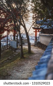 Path to an obscure temple in Nara, Japan.