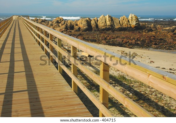 Path over the beach