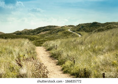 Path over dunes...