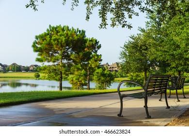 path at a park