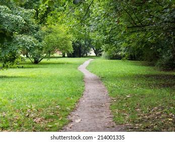 A path through the park