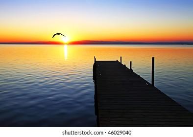path towards the sun