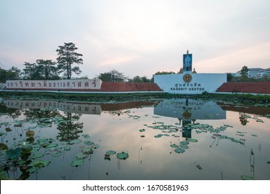 PATHUMTANI, THAILAND - February 9, 2020 : Thammasat University Rangsit campus, It is the famous university in Thailand.