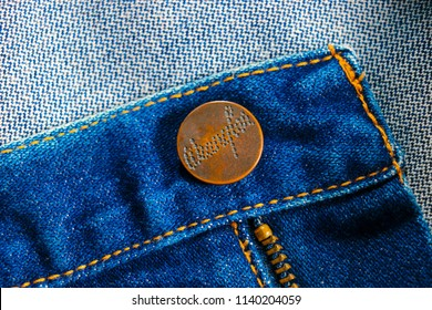 62d1040f PathumThani , Thailand - JULY 22 , 2018 : Close up Wrangler Jeans