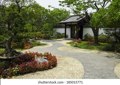 Pathway in Chinese Gardens