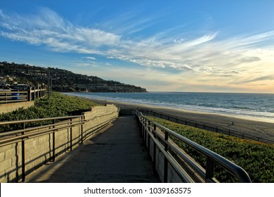 Pathway Down to the Beach, Torrance Beach, Los Angeles, California
