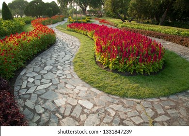 Pathway in the park.