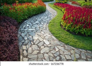 pathway in the park