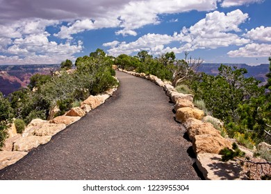Pathway to the spirit world at Grand Canyon South Rim.