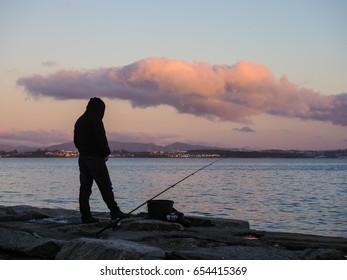 Patient fisherman