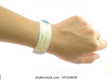 patient identification wristbands