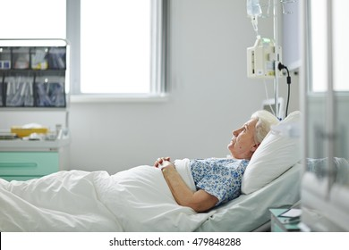 Patient in ward