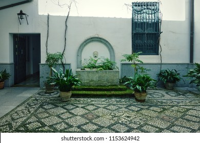 Patio In Spanish Style