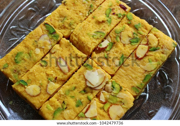 Patisa with dry fruits