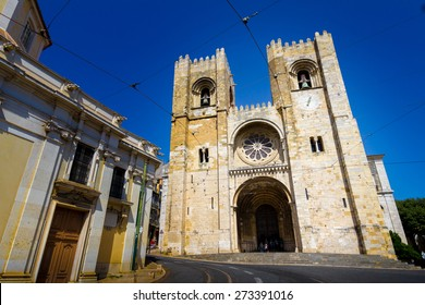 The Patriarchal Cathedral of St. Mary Major (Lisbon Cathedral) in Portugal