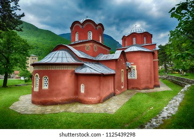 Patriarchate of Peć (Serbian orthodox monastery) The complex of churches, built in the 13th and 14th centuries, is the spiritual seat and mausoleum of the Serbian archbishops and patriarchs