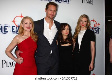 """Patricia Clarkson, Alexander Skarsgard, Ellen Page and Brit Marling at """"The East"""" Los Angeles Premiere, Arclight, Hollywood, CA 05-28-13"""