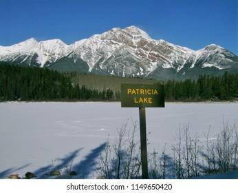 Patricia Lake, Jasper, Alberta, Canda