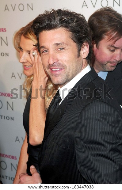 Patrick Dempsey Hope Honors 8th Annual Stock Photo Edit Now 183447038