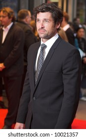 Patrick Dempsey at the London Film Festival premiere of Enchanted in London