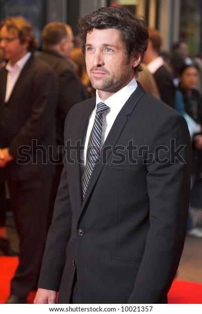Patrick Dempsey London Film Festival Premiere Stock Photo Edit Now