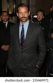 Patrick Grant arriving for London Fashion Week SS14  - Vogue dinner held at Balthazar, London. 15/09/2013