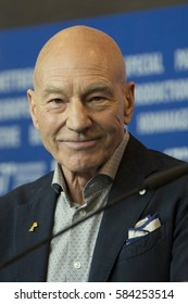 Patrick Stewart attends the 'Logan'  photo call during the 67th Berlinale International Film Festival Berlin at Grand Hyatt Hotel on February 17, 2017 in Berlin, Germany.