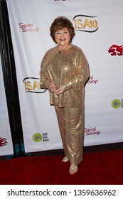 Patrika Darbo arrives at the 10th Annual Indie Series Awards at The Colony Theatre in Burbank, CA on April 3, 2019.