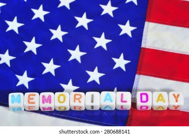 Patriot Term with United States Flag - Memorial Day