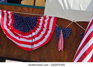 Patriotic Decor in red white and blue