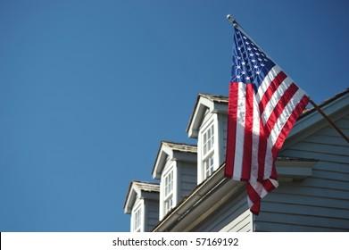 Patriotic house in St. Augustin