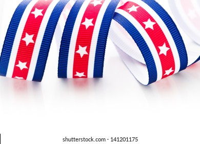 Patriotic items to celebrate July 4th.
