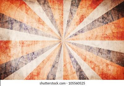 Patriotic Ray Background