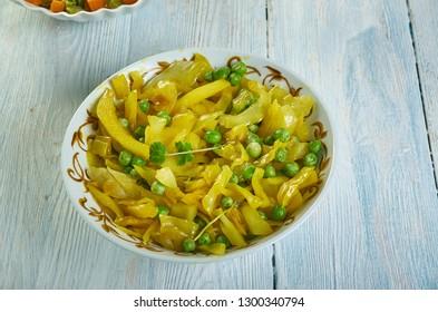 Patta Gobhi Aloo ki Sabji ,  cabbage sabzi - north indian style