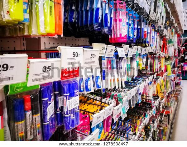 Pattani Thailand January 06 2019 Colorful Stock Photo (Edit