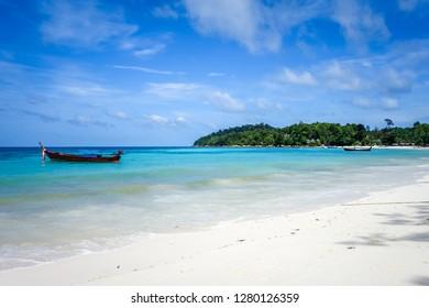 Pattaya beach, tropical paradise in Koh Lipe, Thailand
