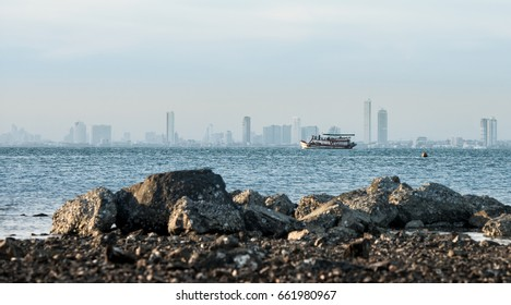Pattaya city seascape, Thailand