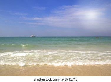 Pattaya seaside  crystal clear water natural holiday