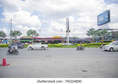 Pattaya, Thailand - November 10, 2014: the city streets of Pattaya. Scenes of city life.