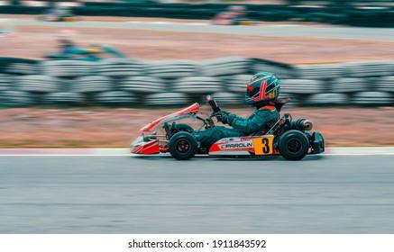 PATTAYA,CHONBURI,THAILAND: On May,12, 2019 IAME Series Asia at Bira Circuite Pattaya,Thailand.