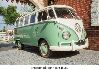 Van Volkswagen Vintage Images Stock Photos Vectors Shutterstock
