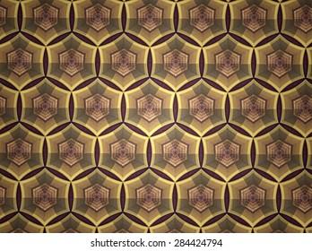 Pattern background color